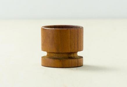 北欧で使われていた、チーク材のエッグスタンド/ビンテージ/T0302