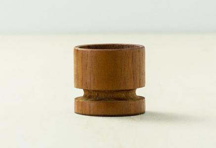 北欧で使われていた、チーク材のエッグスタンド/ビンテージ/T0303