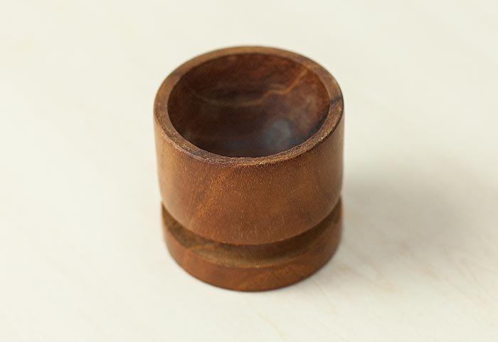北欧で使われていた、チーク材のエッグスタンド/ビンテージ/T0316  画像03