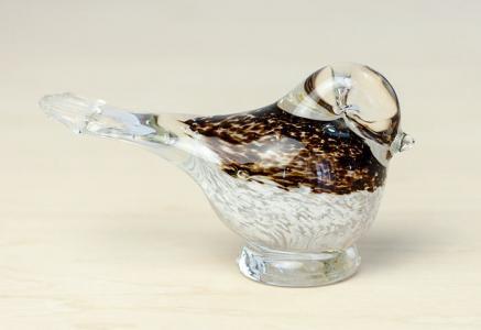Guldkrokens HJO/ガラスの鳥の置物/スウェーデン/ビンテージ/I0077