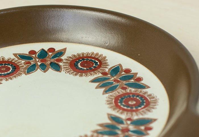 FIGGJO(フィッギオ)/VULCANUSー陶器のスキレット(茶)/ノルウェー/ビンテージ/K0063  画像04