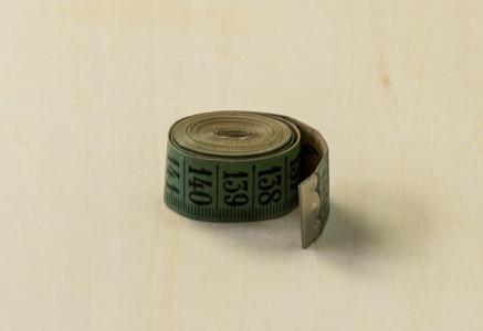 北欧で使われていた、メジャーテープ / ビンテージ / S0043