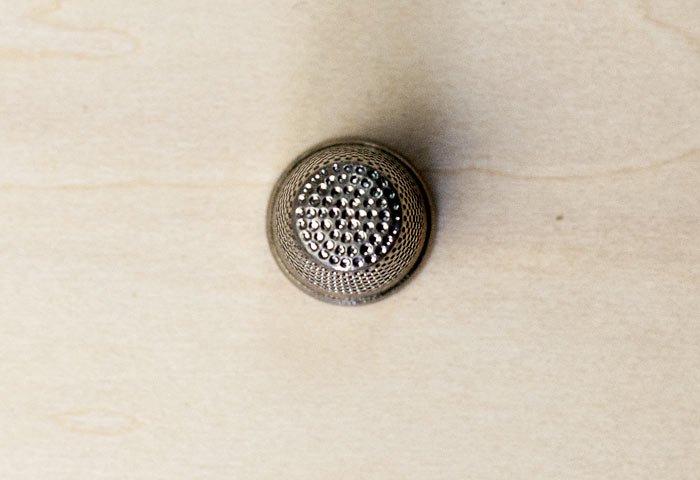 北欧で使われていた、ビンテージの指貫(シンブル) / ビンテージ / S0044  画像02