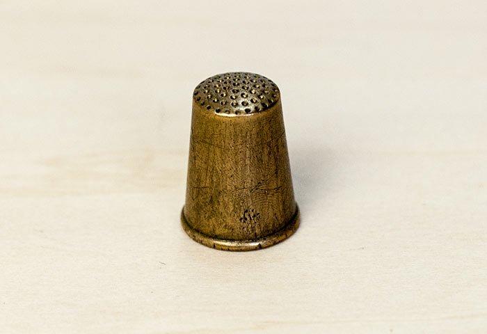 北欧で使われていた、ビンテージの指貫(シンブル) / ビンテージ / S0046 画像