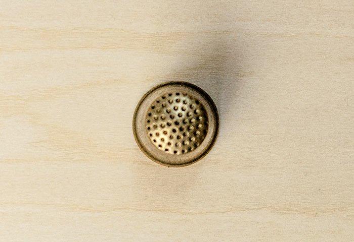 北欧で使われていた、ビンテージの指貫(シンブル) / ビンテージ / S0046  画像02