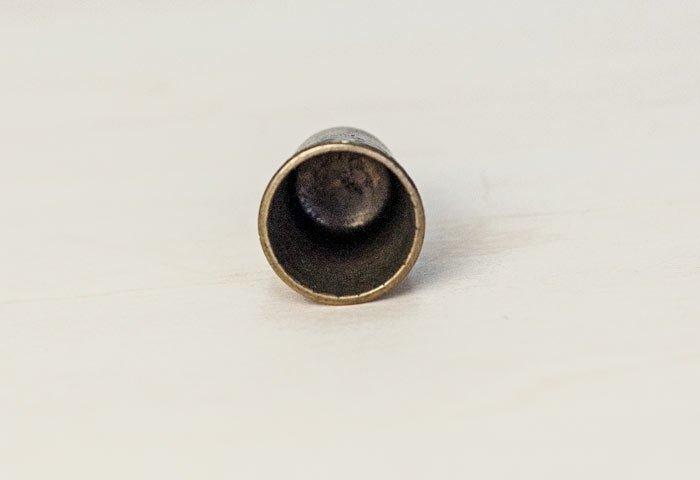 北欧で使われていた、ビンテージの指貫(シンブル) / ビンテージ / S0046  画像03