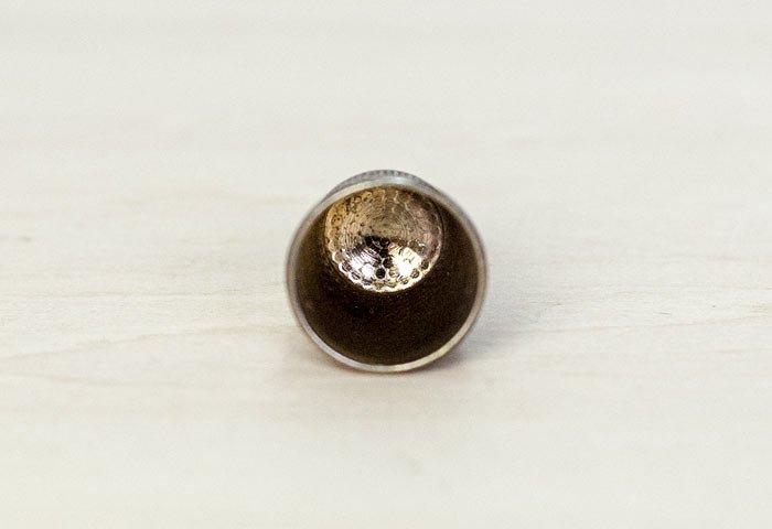 北欧で使われていた、ビンテージの指貫(シンブル) / ビンテージ / S0050  画像03