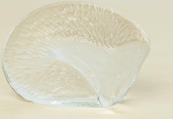 Royal Krona(ロイヤルクローナ)/クリスタルガラスのハリネズミの置物/スウェーデン/ビンテージ/I0080  画像03