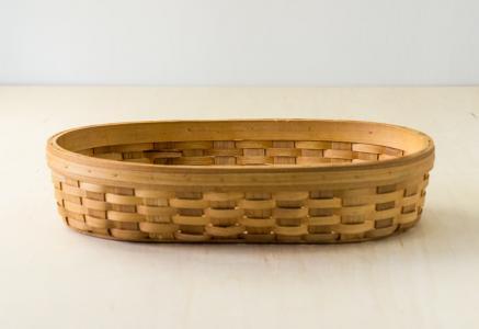 北欧で使われていた、木製のかご/ ビンテージ / S0049