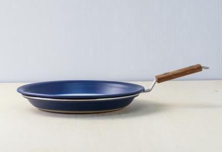 FIGGJO(フィッギオ)/VULCANUS - 陶器のスキレット(青)/ノルウェー/ビンテージ/K0070