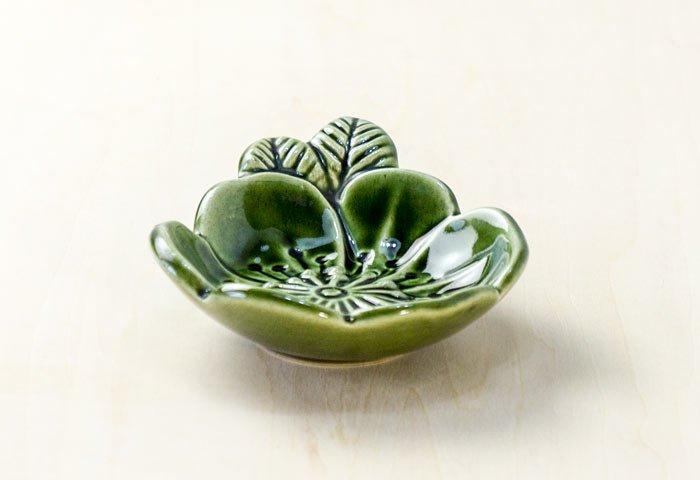 DECO(デコ) / 花のモチーフの陶器の器 / スウェーデン / ビンテージ / S0063 画像