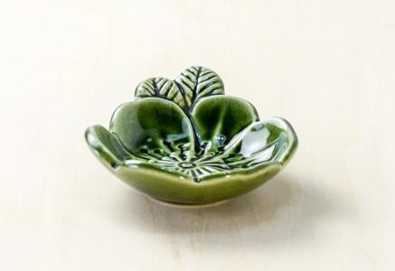 DECO(デコ) / 花のモチーフの陶器の器 / スウェーデン / ビンテージ / S0063