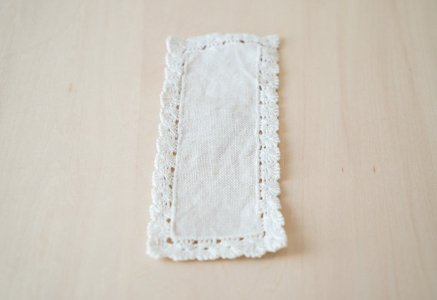 北欧で使われていた、ビンテージのドイリー(敷物)/ビンテージ/F0126