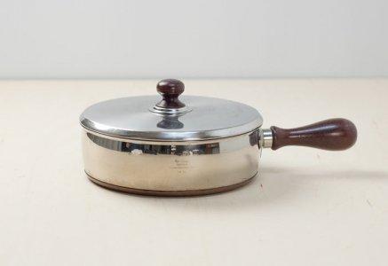 GENSE(ゲンセ)/チークの取手の片手鍋/スウェーデン/ビンテージ/K0083