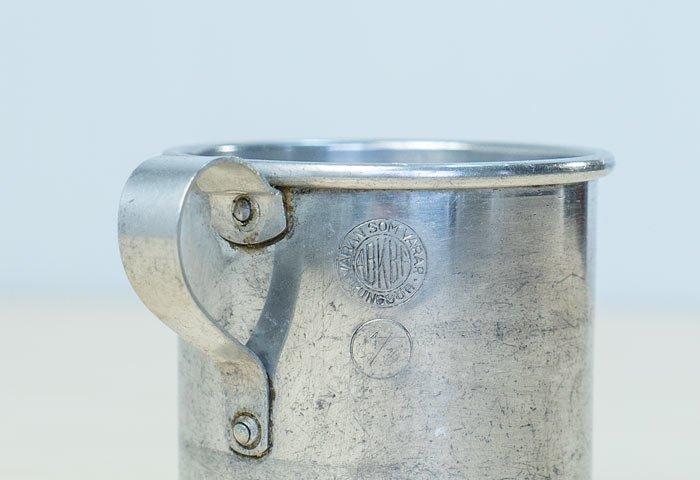 ABKBF – KUNGSOR/アルミ製のマグカップ/スウェーデン/ビンテージ/T0349  画像03