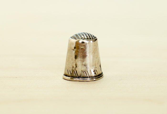 北欧で使われていた、ビンテージの指貫(シンブル) / ビンテージ / S0076 画像