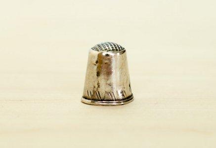 北欧で使われていた、ビンテージの指貫(シンブル) / ビンテージ / S0076