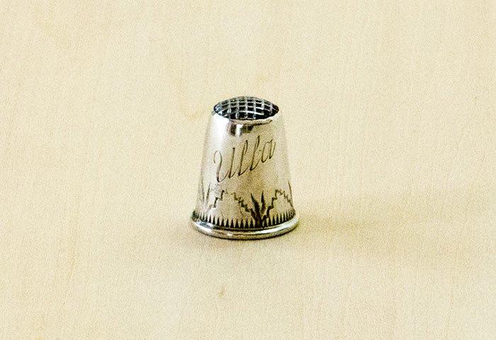 北欧で使われていた、ビンテージの指貫(シンブル) / ビンテージ / S0077 画像
