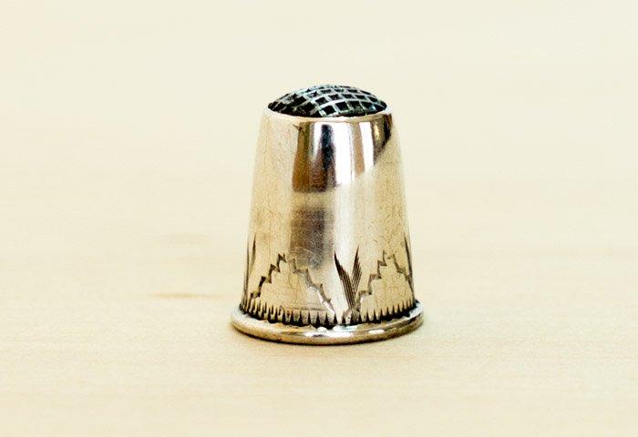 北欧で使われていた、ビンテージの指貫(シンブル) / ビンテージ / S0077  画像03