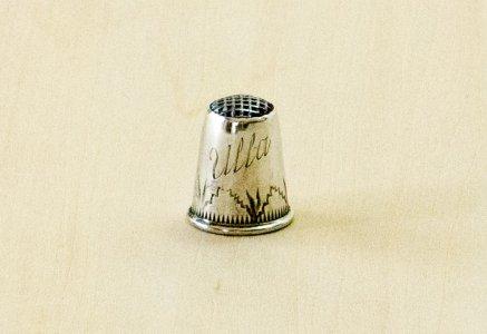 北欧で使われていた、ビンテージの指貫(シンブル) / ビンテージ / S0077