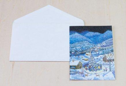 北欧で見つけた、クリスマスカード(未使用)/ ビンテージ / S0081