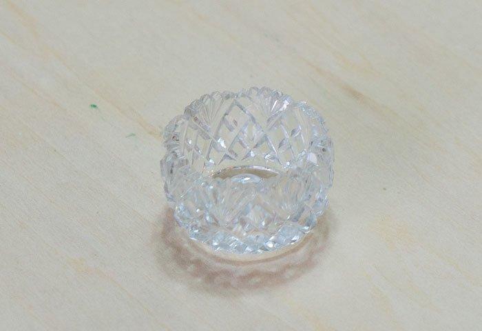 北欧で使われていた、ビンテージのガラスの入れ物/ ビンテージ / S0083  画像02
