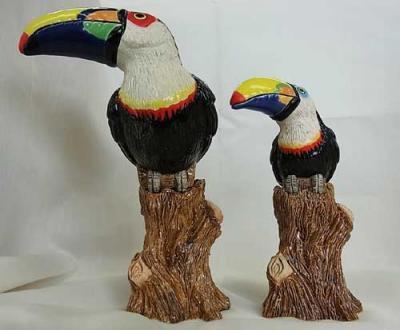 陶製九官鳥