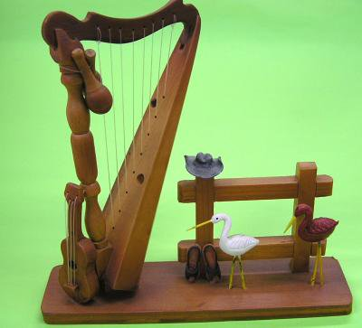 コロンビア楽器アルパのミニチュア