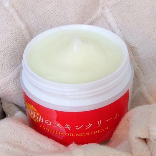 【椿乃華】天然椿油のスキンクリーム60g|フェイス&ボディの保湿に