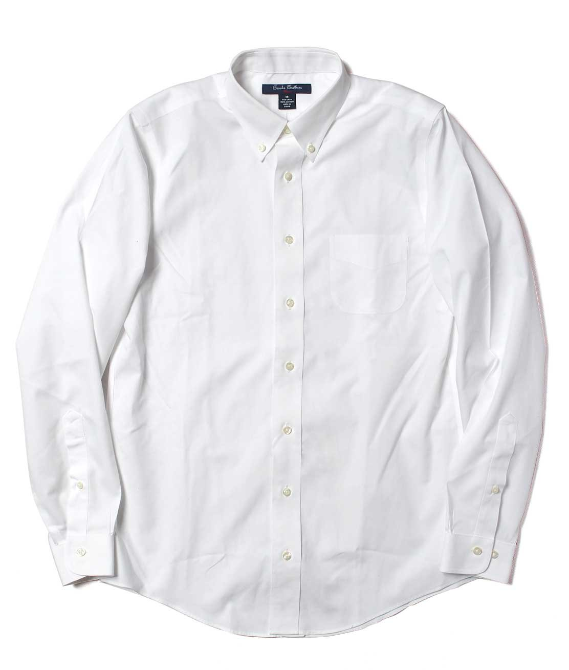 Brooks brothers boy 39 s oxford b d shirt white for Brooks brothers boys shirts