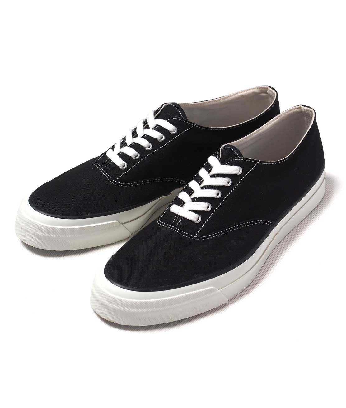 【asahi Deck】m014 Deck Shoes Black デッキシューズ 日本製 Hunky