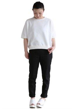 TOMORROWLAND MACPHEE(マカフィ)STITCH LOGO T スウェットTシャツ【12-03-61-03106】ホワイト