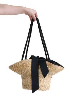 Bilitis dix-sept ans(ビリティス) Hat Shaped Basket Purse ハット型バスケット【Misc-1267】Beige