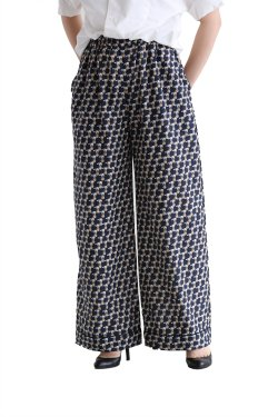 beautiful people(ビューティフルピープル) circus bear print gather pants【1715105006】
