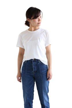 <img class='new_mark_img1' src='https://img.shop-pro.jp/img/new/icons20.gif' style='border:none;display:inline;margin:0px;padding:0px;width:auto;' />muller of yoshiokubo(ミュラーオブヨシオクボ) Prickle T-shirts ピックルTシャツ【MLS17118】ivory