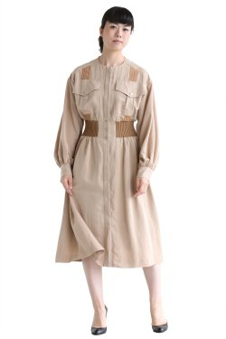 muller of yoshiokubo(ミュラーオブヨシオクボ) Safari shirt dress【MLF17612】