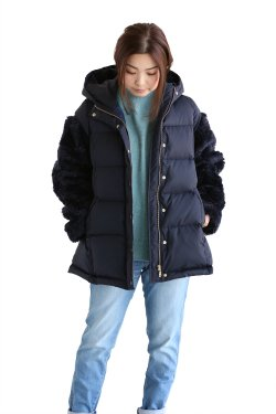 <img class='new_mark_img1' src='//img.shop-pro.jp/img/new/icons20.gif' style='border:none;display:inline;margin:0px;padding:0px;width:auto;' />Kaon(カオン) Short Down Coat ショートダウンコート【KA17-SDWC】