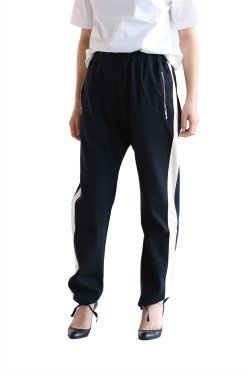 unfil(アンフィル) cotton interlock jersey truck pants【OESP-UW115】dark navy