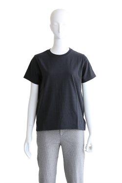 MACPHEE(マカフィ) クリアコットンクルーネックTシャツ【12-03-82-03306】チャコール