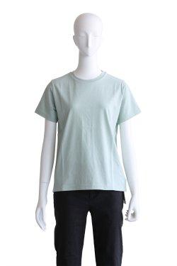 MACPHEE(マカフィ) クリアコットンクルーネックTシャツ【12-03-82-03306】ライトグリーン
