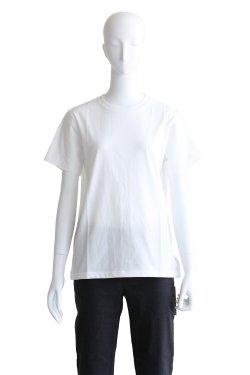 MACPHEE(マカフィ) クリアコットンクルーネックTシャツ【12-03-82-03306】ホワイト