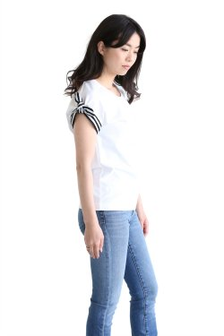 BORDERS at BALCONY(ボーダーズアットバルコニー) RIBBON TEE【BD1811-2C-04】