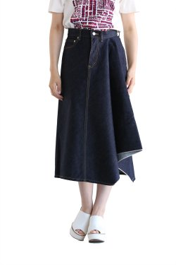 beautiful people(ビューティフルピープル) iregular hem A-line skirt