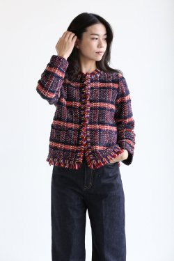 COOHEM(コーヘン) TARTAN CHECK TWEED JACKET