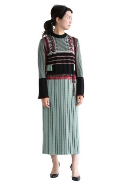 【在庫あり】 Pedicel Jacquard Knit Dress