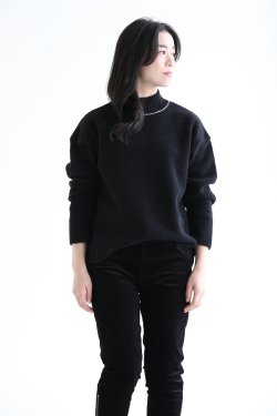 BORDERS at BALCONY(ボーダーズアットバルコニー) MOUSSE SWEATER