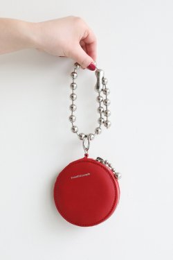 beautiful people(ビューティフルピープル) ball chain key case  tomato