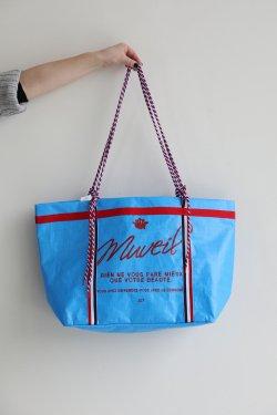 MUVEIL(ミュベール) ピクニックシートバッグ  blue