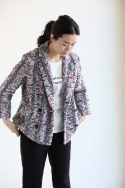 <img class='new_mark_img1' src='https://img.shop-pro.jp/img/new/icons20.gif' style='border:none;display:inline;margin:0px;padding:0px;width:auto;' />COOHEM(コーヘン) BLAZER TWEED ジャケット
