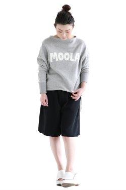 MOOLA(モーラ) レタードプルオーバー  gray